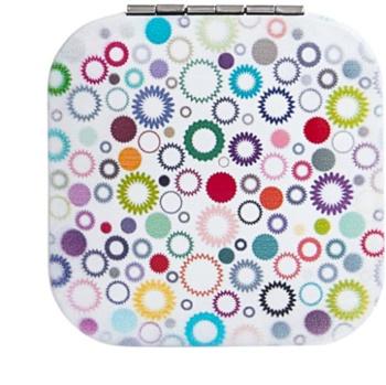 Diva & Nice Cosmetics Accessories négyzet alakú kozmetikai tükör