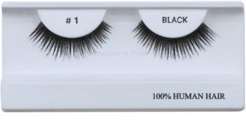 Diva & Nice Cosmetics Accessories ciglia finte in capelli naturali