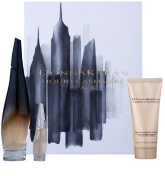 DKNY Liquid Cashmere Black poklon set I. za žene