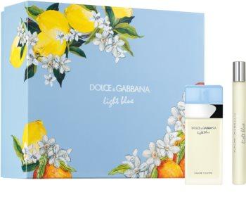Dolce & Gabbana Light Blue zestaw upominkowy XXII. dla kobiet