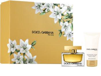 Dolce & Gabbana The One zestaw upominkowy XV. dla kobiet