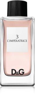 Dolce & Gabbana 3 L'Imperatrice eau de toilette voor Vrouwen