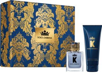 Dolce & Gabbana K by Dolce & Gabbana darilni set I. za moške