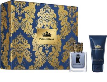 Dolce & Gabbana K by Dolce & Gabbana set cadou III. pentru bărbați