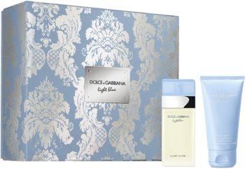 Dolce & Gabbana Light Blue set cadou I. pentru femei