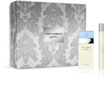Dolce & Gabbana Light Blue ajándékszett X. hölgyeknek