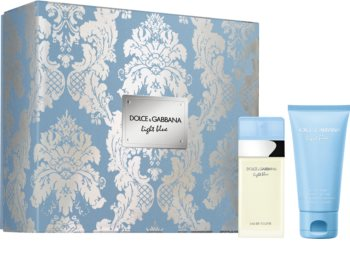Dolce & Gabbana Light Blue darčeková sada III. pre ženy