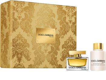Dolce & Gabbana The One set cadou XIII. pentru femei