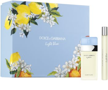 Dolce & Gabbana Light Blue Presentförpackning XXX. för Kvinnor