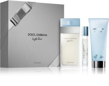 Dolce & Gabbana Light Blue zestaw upominkowy IX.