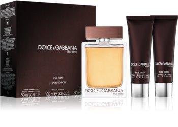 Dolce & Gabbana The One For Men lote de regalo V. para hombre