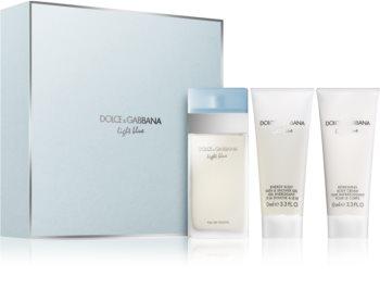 Dolce & Gabbana Light Blue coffret VI. para mulheres
