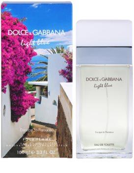 Dolce & Gabbana Light Blue Escape To Panarea Eau de Toilette para mulheres 100 ml