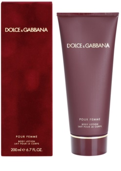 Dolce & Gabbana Pour Femme leche corporal para mujer 200 ml