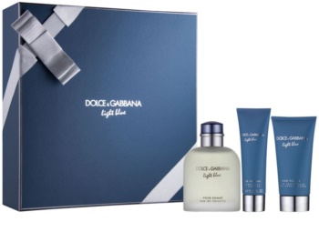 Dolce & Gabbana Light Blue Pour Homme dárková sada I. pro muže