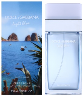 Dolce & Gabbana Light Blue Love in Capri eau de toilette para mujer 100 ml