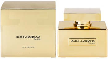 Dolce & Gabbana The One Gold Limited Edition eau de parfum para mulheres 75 ml