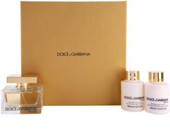 Dolce & Gabbana The One lote de regalo I.