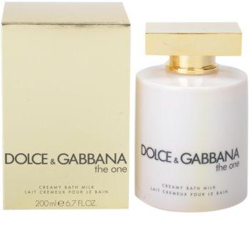 Dolce & Gabbana The One tusoló krém nőknek 200 ml (fürdő tej)