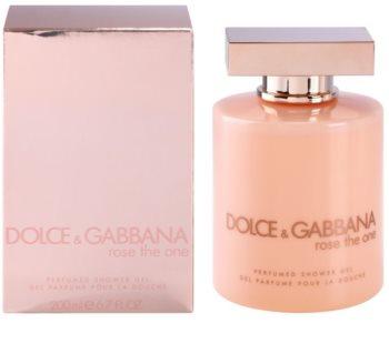 Dolce & Gabbana Rose The One gel de ducha para mujer 200 ml