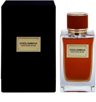 Dolce & Gabbana Velvet Exotic Leather eau de parfum para hombre 150 ml