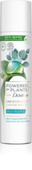 Dove Powered by Plants Eucalyptus dezodorant v spreji
