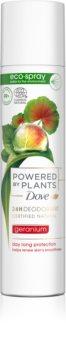 Dove Powered by Plants Geranium déodorant rafraîchissant en spray
