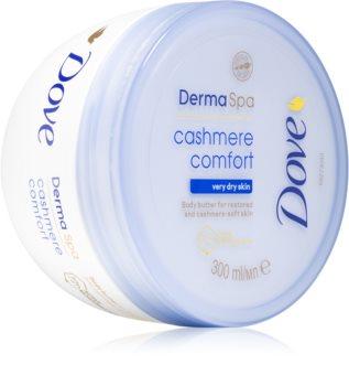 Dove Cashmere Comfort tělové máslo pro jemnou a hladkou pokožku