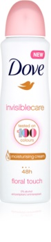Dove Invisible Care Floral Touch anti-transpirant anti-traces blanches sans alcool