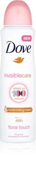 Dove Invisible Care Floral Touch антиперспірант з захистом від білих плям без алкоголя