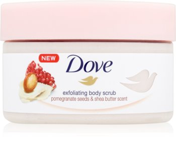 Dove Exfoliating Body Scrub Pomegranate Seeds & Shea Butter scrub corpo trattante