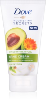Dove Nourishing Secrets Invigorating Ritual crema de maini pentru piele uscata