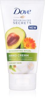 Dove Nourishing Secrets Invigorating Ritual crème mains pour peaux sèches
