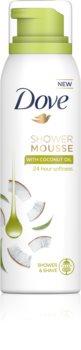 Dove Coconut Oil spumă pentru duș 3 in 1