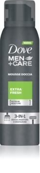 Dove Men+Care Extra Fresh Shower Foam 3 in 1