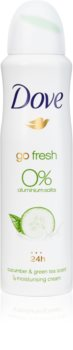Dove Go Fresh Cucumber & Green Tea Alcohol-Free and Aluminium-Free Deodorant 24 h