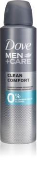 Dove Men+Care Clean Comfort дезодорант без алкохол и алуминий 24 часа