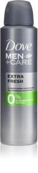Dove Men+Care Extra Fresh deodorant bez alkoholu a obsahu hliníku 24h