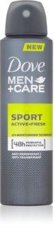 Dove Men+Care Sport Active+Fresh antiperspirant ve spreji pro muže