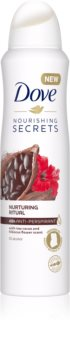 Dove Nourishing Secrets Nurturing Ritual spray anti-perspirant 48 de ore
