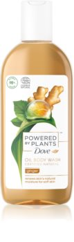 Dove Powered by Plants Ginger óleo de duche