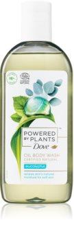 Dove Powered by Plants Eucalyptus óleo de banho refrescante