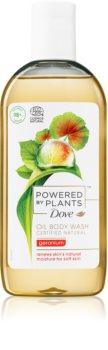 Dove Powered by Plants Geranium ošetrujúci sprchový olej