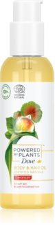 Dove Powered by Plants Geranium óleo nutritivo para corpo e cabelo
