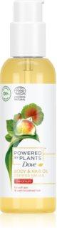 Dove Powered by Plants Geranium výživný olej na tělo a vlasy