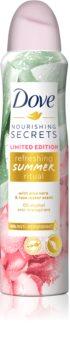 Dove Nourishing Secrets Limited Edition Refreshing Summer Ritual spray anti-transpirant 48h