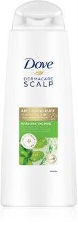 Dove DermaCare Scalp Invigorating Mint освежаващ шампоан против пърхот