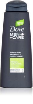 Dove Men+Care Fresh Clean champú y acondicionador 2 en 1 para hombre