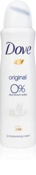 Dove Original desodorante sin alcohol ni aluminio 24h