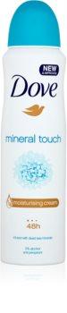Dove Mineral Touch antiperspirant v spreji